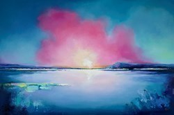 Seashore Light III by Anna Gammans -  sized 59x39 inches. Available from Whitewall Galleries